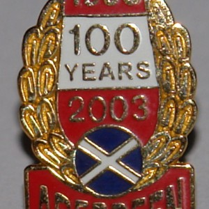 aberdeen 100 years badge