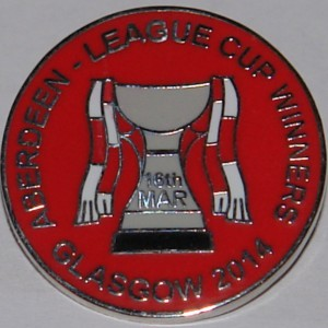 aberdeen league cup winners 2014 badge