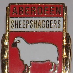 aberdeen sheepshaggers badge