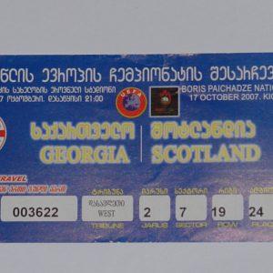 georgia v scotland 2007