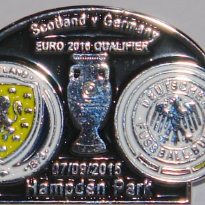 scotland v germany 2016 game badge