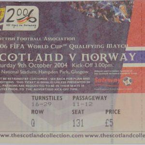 scotland v norway 2004