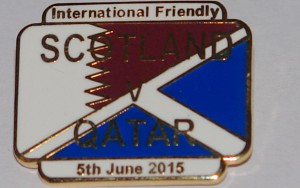 scotland v qatar badge 2015