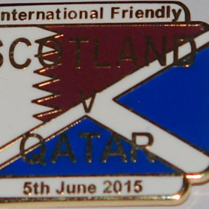 scotland v qatar badge 2015