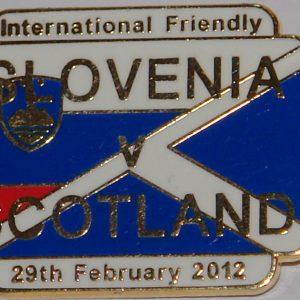 scotland v slovenia 2012 square badge