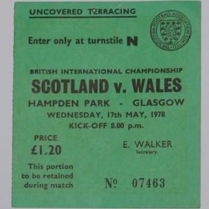 scotland v wales 1978