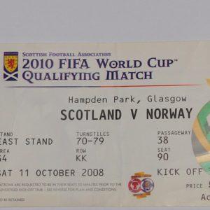 scotland vnorway 2008
