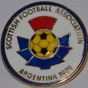 scottish asocciation 78 badge