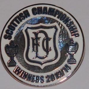 scottish championship 2013-14 badge