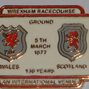wales v scotland 130 years badge