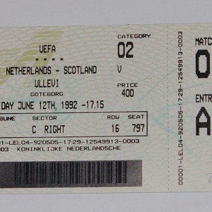 holland v scotland 1992