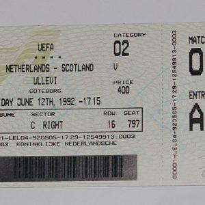 holland v scotland 1992