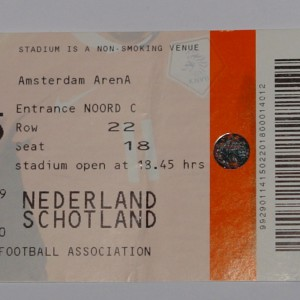 holland v scotland 2009