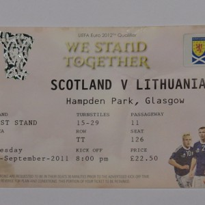 scotland v lithuania 2011