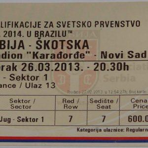 serbia v scotland 2013