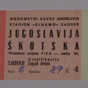 yugoslavia v scotland 1989