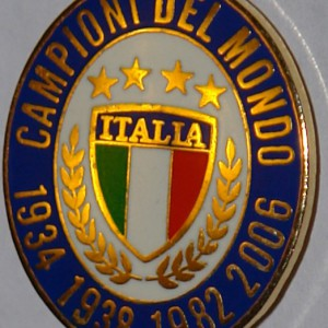 oval italy badge