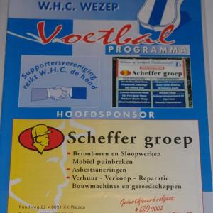 W.H.C Wezep v rangers