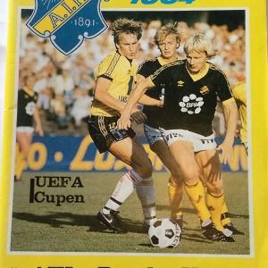 aik stokholm v dundee united 1984