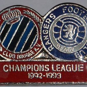 club brugge v rangers 92-93