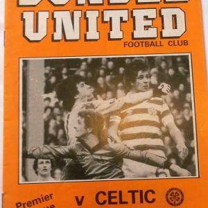 dundee united v celtic 1982
