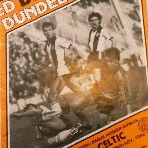 dundee united v celtic 1983