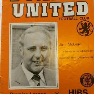 dundee united v hibs 1981