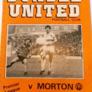 dundee united v morton 1982