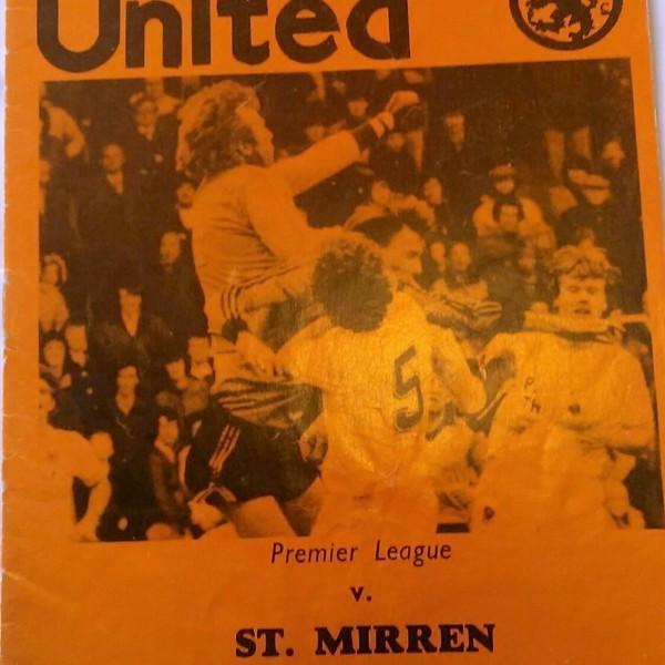 dundee united v st mirren 1981