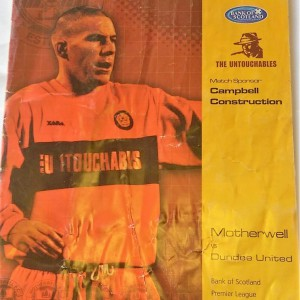 motherwell v dundee united 2004