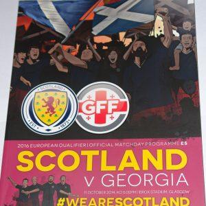 scotland v georgia 2014