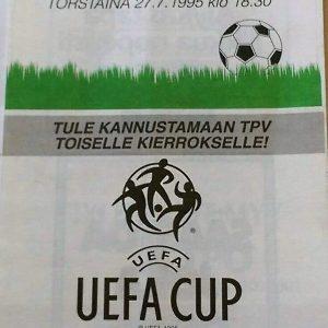 tpv v dundee united 1995