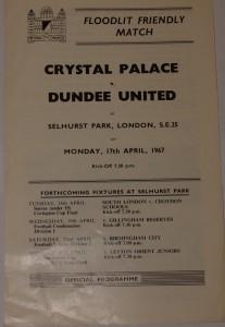cyrstal palace v dundee united1967