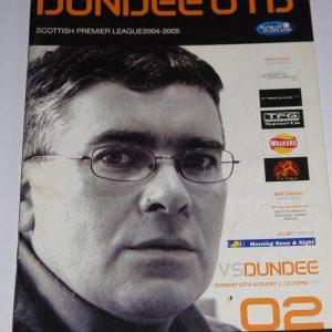 dundee united v dundee 2004-05