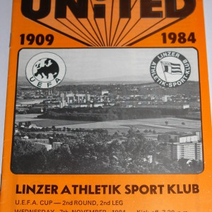 linzer athletik sport club 1984