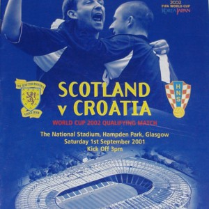 scotland v croatia 2001