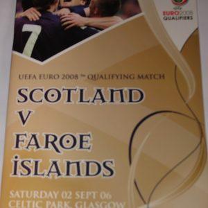 scotland v faroes 2006