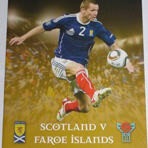 scotland v faroes 2010