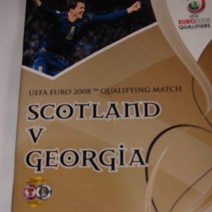 scotland v georgia 2007