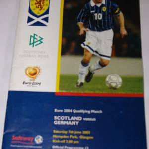 scotland v germany 2003