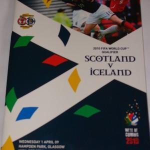scotland v iceland 2009