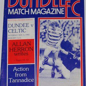 dundee v celtic 1982