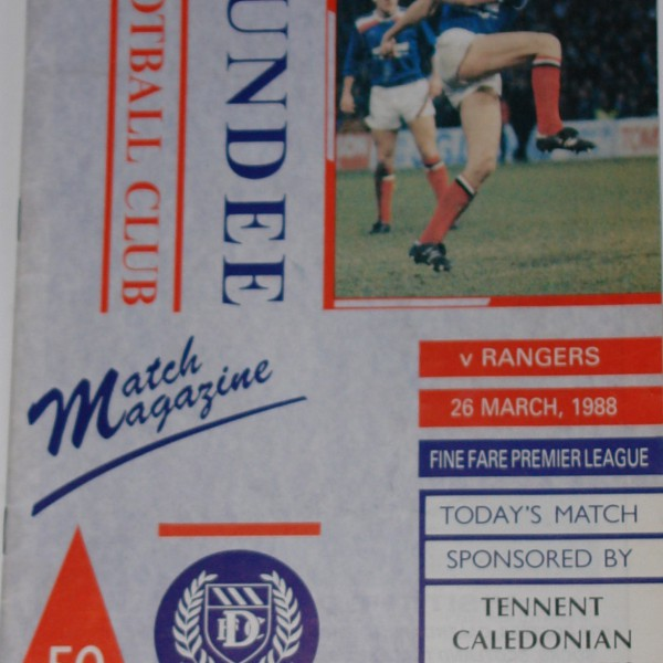 dundee v rangers 1988 march