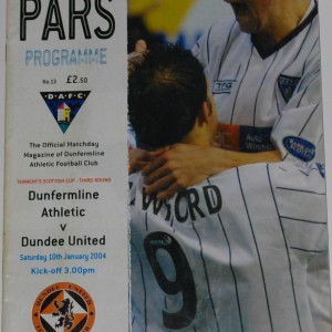 dunfermline v dundee united 2004