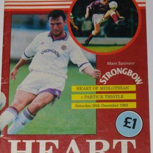 hearts v clydebank 1992