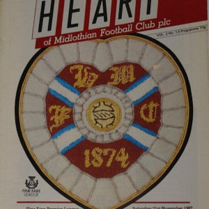 hearts v st mirren 1987