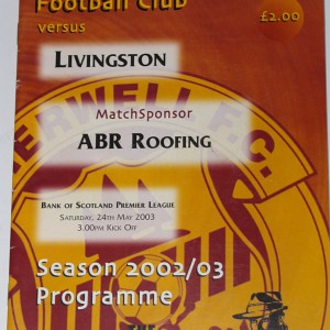 motherwell v livingston 2003