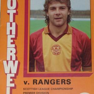 motherwell v rangers 1983