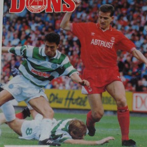 aberdeen v celtic 1992