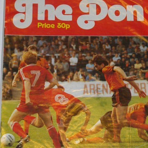 aberdeen v dundee united 1981